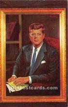 pol035496 - John F Kennedy Postcard