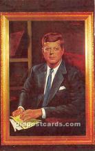 pol035497 - John F Kennedy Postcard