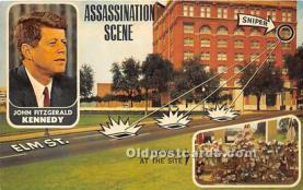 pol035503 - John F Kennedy Postcard