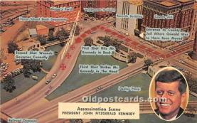 pol035507 - John F Kennedy Postcard