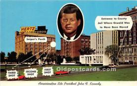 pol035510 - John F Kennedy Postcard
