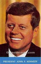 pol035512 - John F Kennedy Postcard