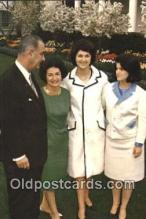 pol036006 - The First Family Lyndon B. Johnson President Postcard Postcards