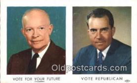 pol037006 - Richard M. Nixon President Postcard Postcards