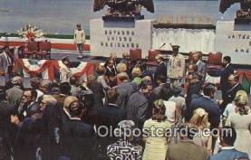 pol037008 - Amistad Dam Richard M. Nixon President Postcard Postcards