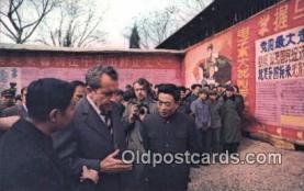 pol037009 - Peking Trip Richard M. Nixon President Postcard Postcards