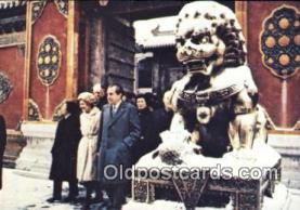 pol037012 - Peking Trip Richard M. Nixon President Postcard Postcards