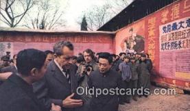 pol037014 - Peking Trip Richard M. Nixon President Postcard Postcards