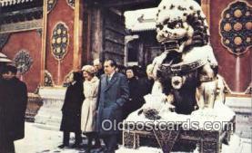 pol037015 - Peking Trip Richard M. Nixon President Postcard Postcards