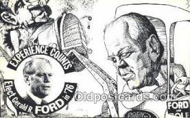 pol038005 - Gerald Ford 38th USA President Postcard Postcards