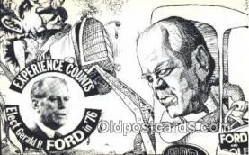 pol038008 - Gerald Ford 38th USA President Postcard Postcards