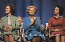 pol038010 - Three presidential Wives Gerald Ford 38th USA President Postcard Postcards
