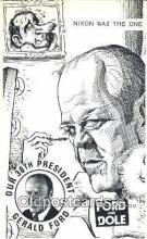 pol038011 - Gerald Ford 38th USA President Postcard Postcards