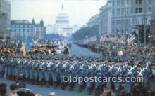 pol039007 - Inaugural Parade, Pennsylvania Jimmy Carter 39th USA President Postcard Postcards