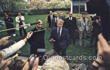 pol039013 - Premier Fukuda of Japan Jimmy Carter 39th USA President Postcard Postcards