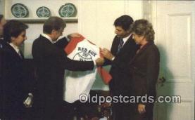 pol039070 - Boston Red Sox Jimmy Carter 39th USA President Postcard Postcards