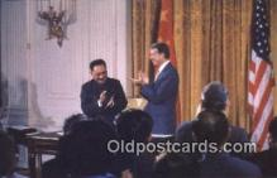 pol039076 - Teng Hsiao-P'ing Jimmy Carter 39th USA President Postcard Postcards
