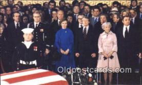 pol039077 - Mrs. Hubert Humphrey Jimmy Carter 39th USA President Postcard Postcards