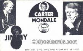 pol039081 - Jimmy Carter 39th USA President Postcard Postcards