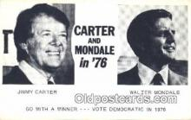 pol039082 - Jimmy Carter 39th USA President Postcard Postcards