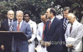 pol039085 - Inauguration Jimmy Carter 39th USA President Postcard Postcards