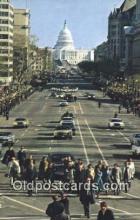 pol039090 - Carter Walk Jimmy Carter 39th USA President Postcard Postcards