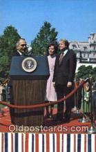 pol039103 - King Hussein of Jordan Jimmy Carter 39th USA President Postcard Postcards