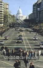 pol039107 - Carter Walk Jimmy Carter 39th USA President Postcard Postcards