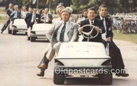 pol040003 - Ottowa, Canada Ronald Regan 40th USA President Postcard Postcards
