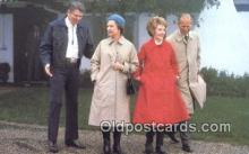 pol040027 - Ronald Regan 40th USA President Postcard Postcards