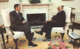 pol040040 - Ronald Regan 40th USA President Postcard Postcards