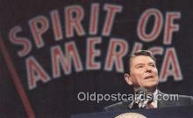 pol040047 - Ronald Regan 40th USA President Postcard Postcards
