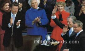 pol040055 - Jimmy Carter Ronald Regan 40th USA President Postcard Postcards