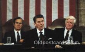 pol040074 - Ronald Regan 40th USA President Postcard Postcards
