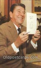 pol040101 - Ronald Regan 40th USA President Postcard Postcards