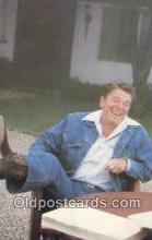 pol040102 - Ronald Regan 40th USA President Postcard Postcards