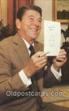 pol040109 - Ronald Regan 40th USA President Postcard Postcards