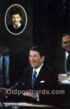 pol040111 - Ronald Regan 40th USA President Postcard Postcards
