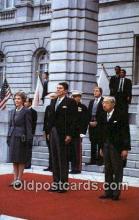 pol040112 - Ronald Regan 40th USA President Postcard Postcards