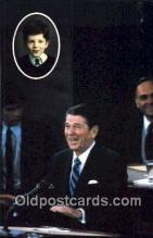 pol040149 - Ronald Regan 40th USA President Postcard Postcards