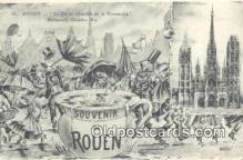 pol100008 - Rouen USA Political Postcard Postcards