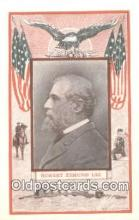 pol100022 - Robert Lee USA Political Postcard Postcards