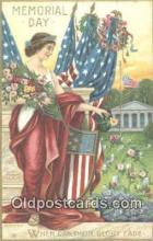pol100029 - Memorial Day USA Political Postcard Postcards