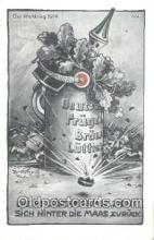 pol100031 - Der Weltkrieg 1914 USA Political Postcard Postcards