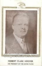 pol100052 - Herbert C. Hoover 30th President of the United States, Political Postcard Postcards