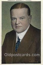 pol100055 - Herbert C. Hoover 30th President of the United States, Political Postcard Postcards