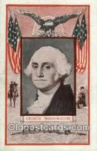 pol100064 - George Washington 1st President of United States, Political Postcard Postcards