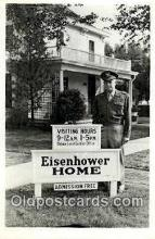pol100080 - Dwight Eisenhower 34th President ot the United States, Political Postcard Postcards