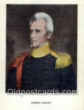 pol100089 - Andrew Jackson President of the United States Political Postcard Postcards