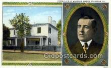 pol100099 - Woodrow Wilson President of the United States, Political Postcard Postcards